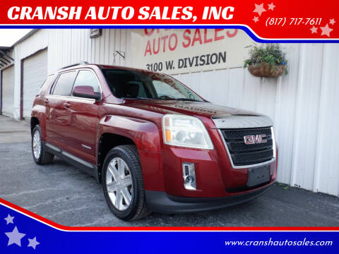 2011 GMC Terrain for sale at CRANSH AUTO SALES, INC in Arlington TX