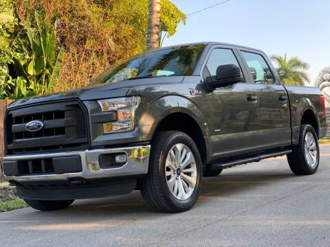 2016 Ford F-150 for sale at HIGH PERFORMANCE MOTORS in Hollywood FL