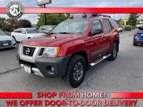 2015 Nissan Xterra for sale at Auto 206, Inc. in Kent WA