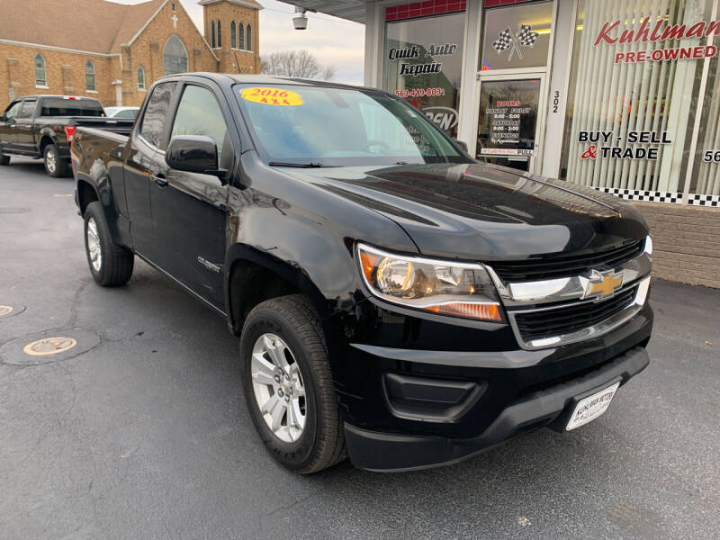 2016 Chevrolet Colorado for sale at KUHLMAN MOTORS in Maquoketa IA