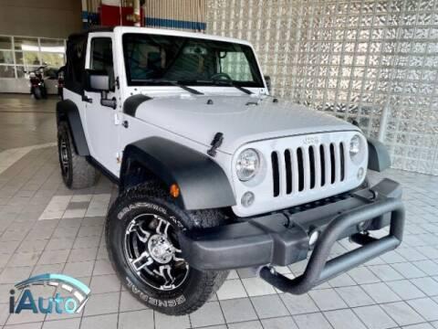 2015 Jeep Wrangler for sale at iAuto in Cincinnati OH