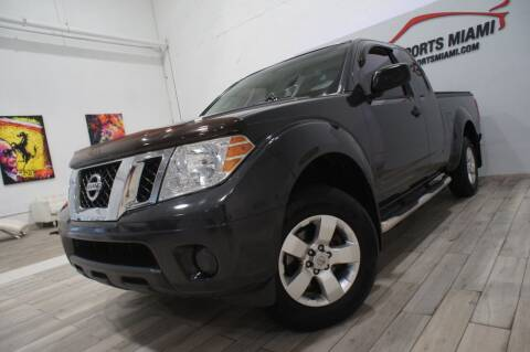 2012 Nissan Frontier for sale at AUTO IMPORTS MIAMI in Fort Lauderdale FL