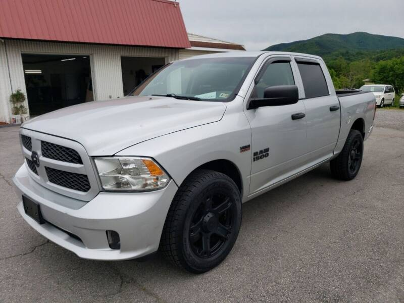 2014 RAM Ram Pickup 1500 for sale at Salem Auto Sales in Salem VA