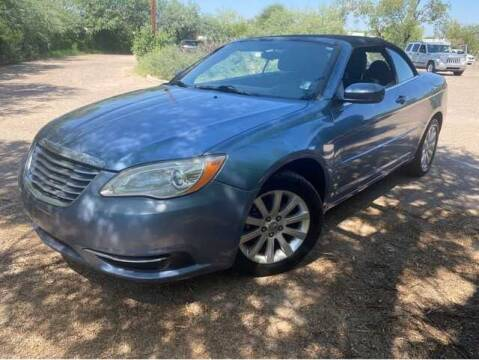 2011 Chrysler 200 Convertible for sale at M&N Auto Service & Sales in El Cajon CA