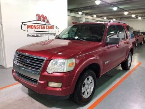 2008 Ford Explorer for sale at Monster Cars in Pompano Beach FL