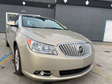 2012 Buick LaCrosse for sale at Julian Auto Sales, Inc. in Warren MI