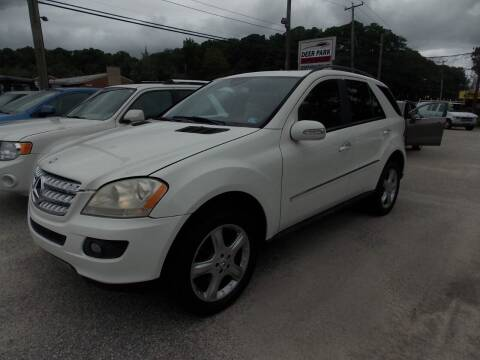 2008 Mercedes-Benz M-Class for sale at Deer Park Auto Sales Corp in Newport News VA