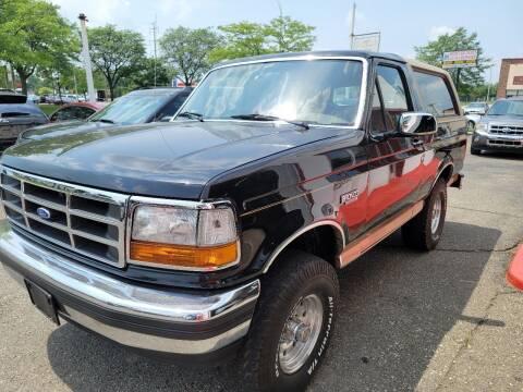 1994 Ford Bronco for sale at J & J Used Cars inc in Wayne MI