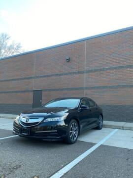 2015 Acura TLX for sale at KI Auto Body and Sales in Lino Lakes MN