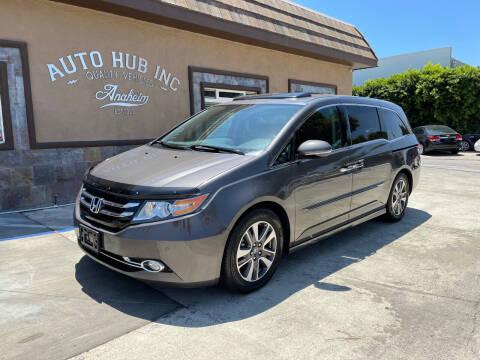 2014 Honda Odyssey for sale at Auto Hub, Inc. in Anaheim CA