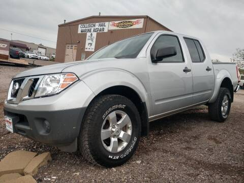 2012 Nissan Frontier for sale at Kustomz Truck & Auto Inc. in Rapid City SD