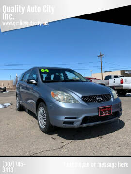 2004 Toyota Matrix for sale at Quality Auto City Inc. in Laramie WY