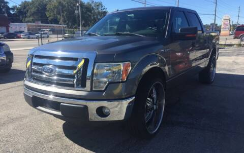 2012 Ford F-150 for sale at Castle Used Cars in Jacksonville FL