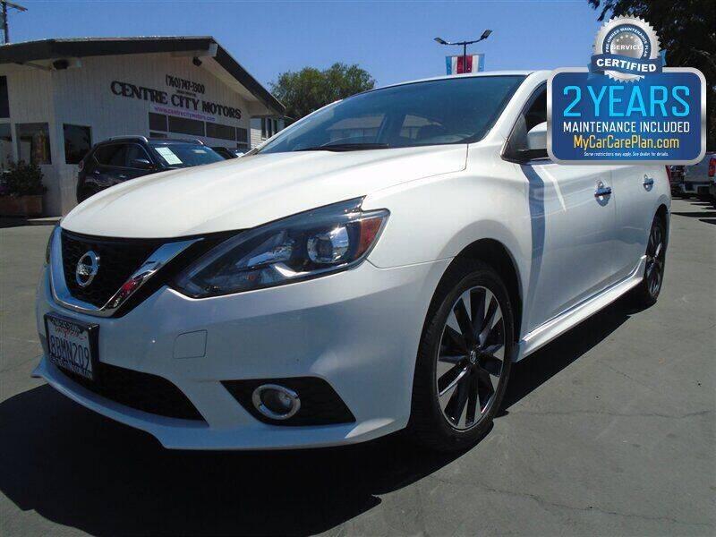 2017 Nissan Sentra for sale at Centre City Motors in Escondido CA