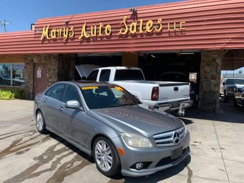 2009 Mercedes-Benz C-Class for sale at Marys Auto Sales in Phoenix AZ
