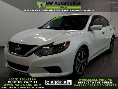 2017 Nissan Altima for sale at NW Automotive Group in Cincinnati OH