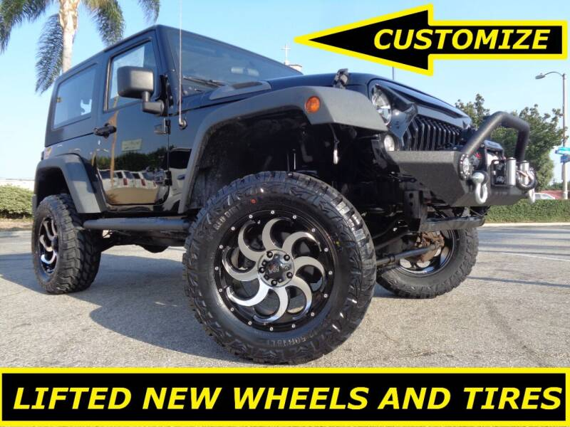 2009 Jeep Wrangler for sale at ALL STAR TRUCKS INC in Los Angeles CA