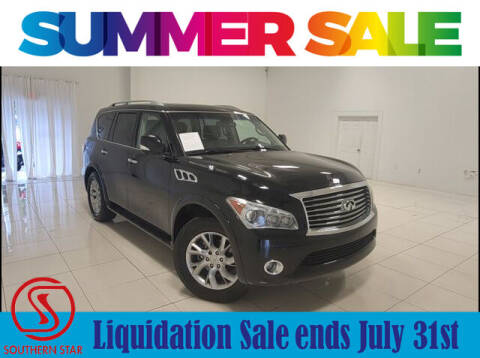 2013 Infiniti QX56 for sale at Southern Star Automotive, Inc. in Duluth GA