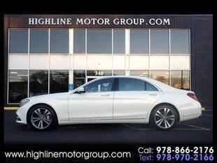 2019 Mercedes-Benz S-Class for sale at Highline Group Motorsports in Lowell MA