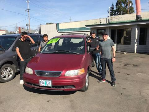 1995 Honda Odyssey for sale at Salem Auto Market in Salem OR