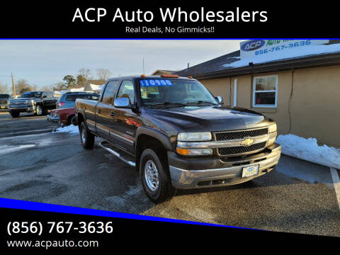 2001 Chevrolet Silverado 2500HD for sale at ACP Auto Wholesalers in Berlin NJ