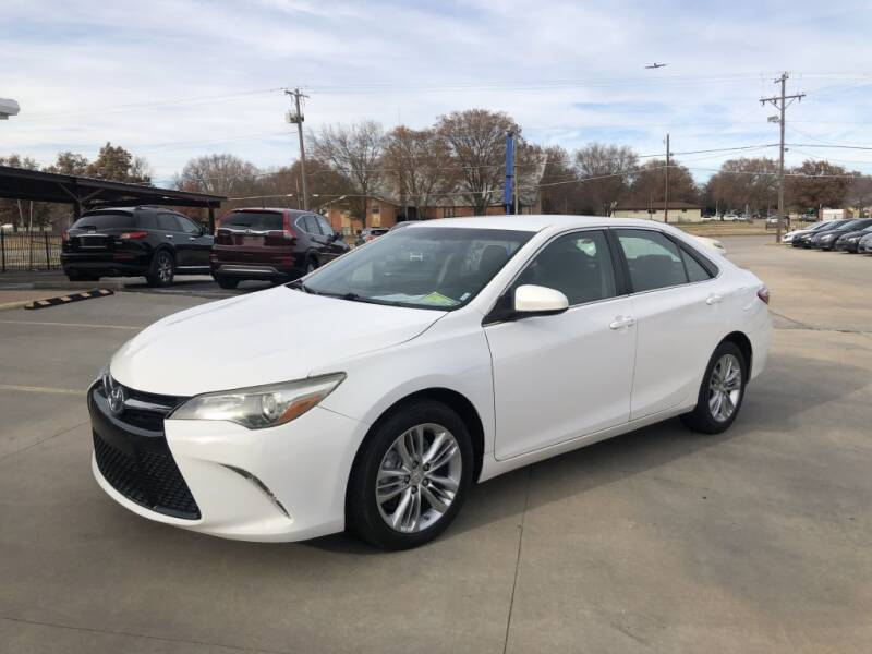 2016 Toyota Camry for sale at Kansas Auto Sales in Wichita KS