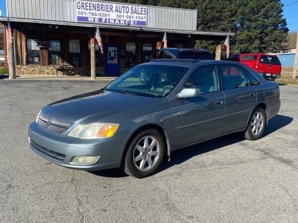 2002 Toyota Avalon for sale at Greenbrier Auto Sales in Greenbrier AR