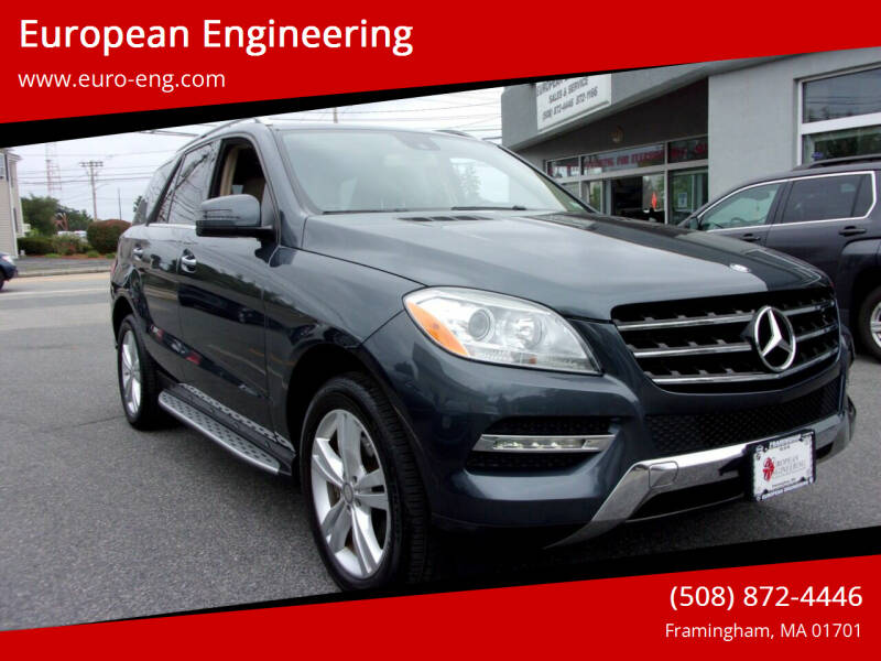 2014 Mercedes-Benz M-Class for sale at European Engineering in Framingham MA