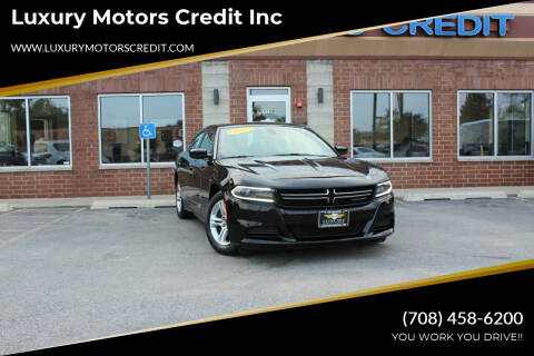 2015 Dodge Charger for sale at Luxury Motors Credit Inc in Bridgeview IL