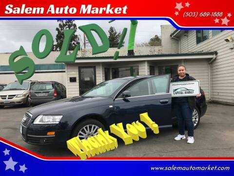 2007 Audi A6 for sale at Salem Auto Market in Salem OR