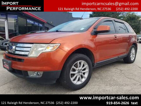 2007 Ford Edge for sale at Import Performance Sales - Henderson in Henderson NC