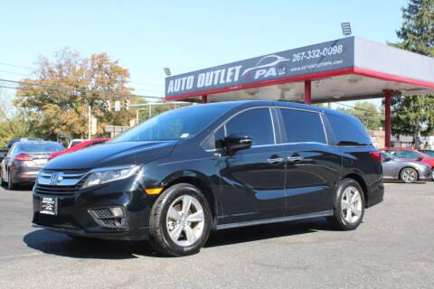 2018 Honda Odyssey for sale at Deals N Wheels 306 in Burlington NJ