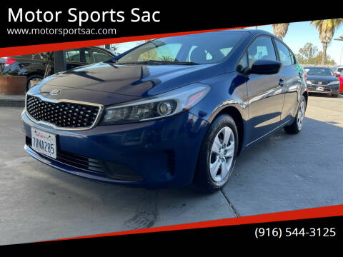 2017 Kia Forte for sale at Motor Sports Sac in Sacramento CA