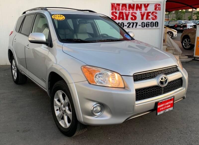 2010 Toyota RAV4 for sale at Manny G Motors in San Antonio TX