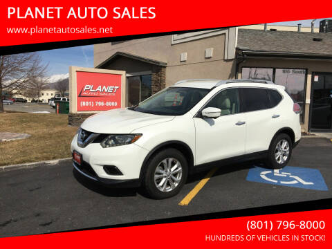 2015 Nissan Rogue for sale at PLANET AUTO SALES in Lindon UT