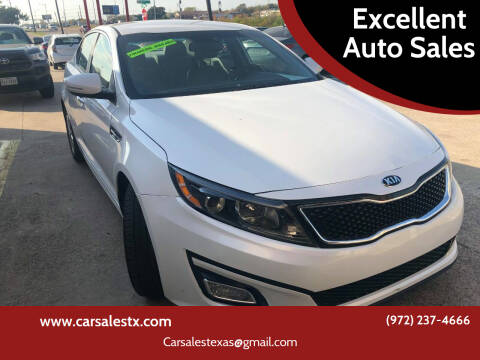 2015 Kia Optima for sale at Excellent Auto Sales in Grand Prairie TX