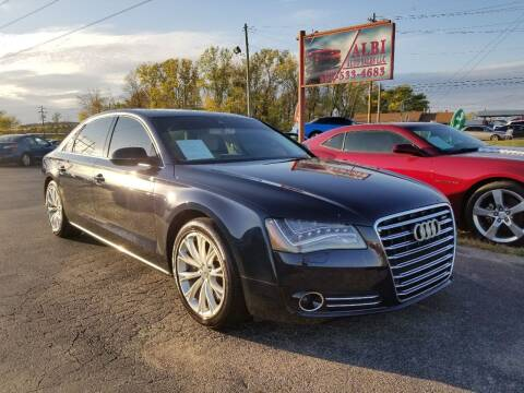 2012 Audi A8 L for sale at Albi Auto Sales LLC in Louisville KY