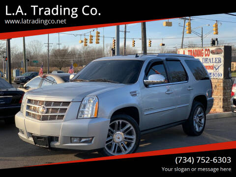 2013 Cadillac Escalade for sale at L.A. Trading Co. in Woodhaven MI