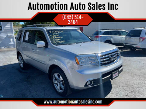 2014 Honda Pilot for sale at Automotion Auto Sales Inc in Kingston NY