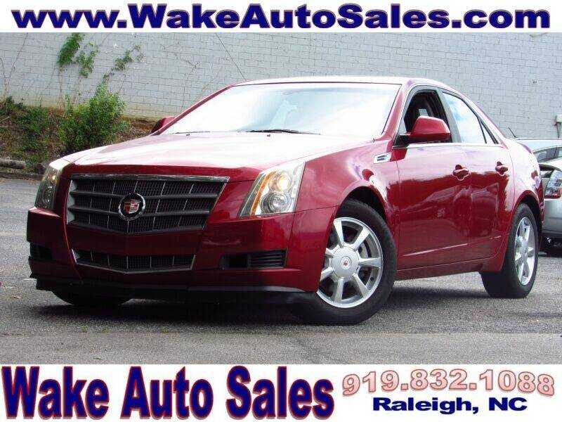 2008 Cadillac CTS for sale at Wake Auto Sales Inc in Raleigh NC