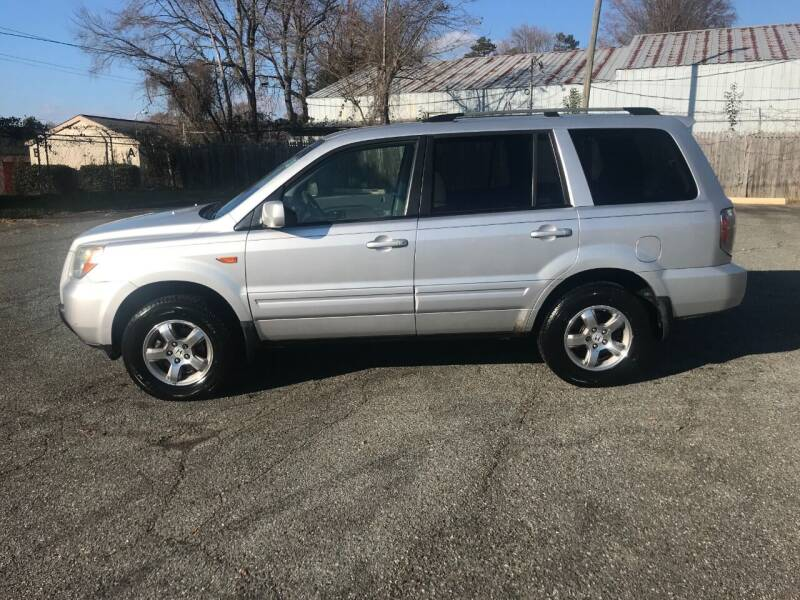 2007 Honda Pilot for sale at Mike's Auto Sales of Charlotte in Charlotte NC