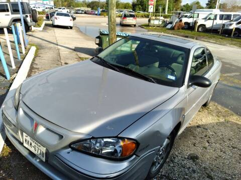 2003 Pontiac Grand Am for sale at P S AUTO ENTERPRISES INC in Miramar FL