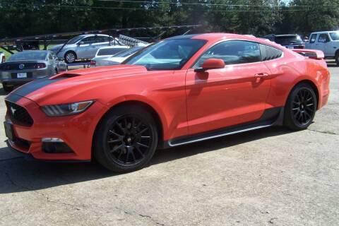 2016 Ford Mustang for sale at HILLCREST MOTORS LLC in Byram MS