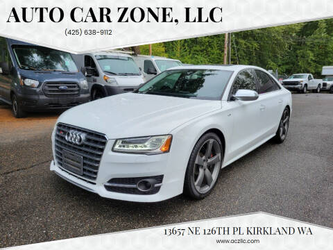 2016 Audi S8 for sale at Auto Car Zone, LLC in Kirkland WA