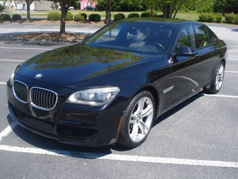 2013 BMW 7 Series for sale at Uniworld Auto Sales LLC. in Greensboro NC