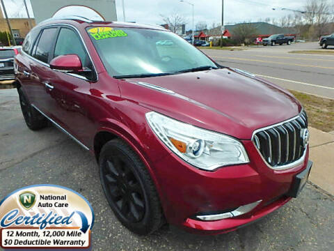 2017 Buick Enclave for sale at Jon's Auto in Marquette MI
