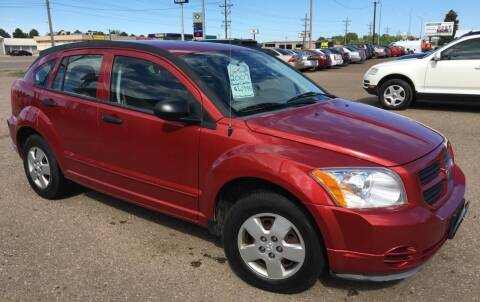 2007 Dodge Caliber for sale at BARNES AUTO SALES in Mandan ND