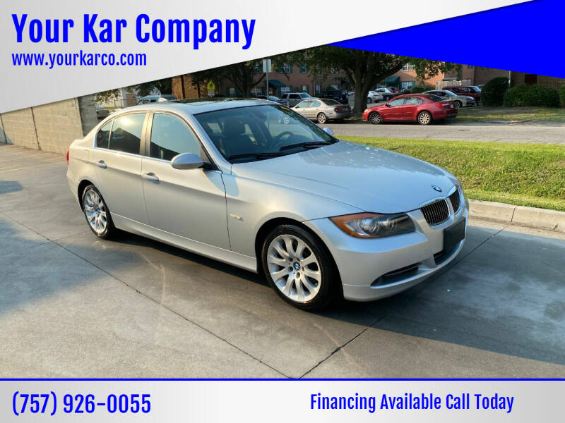 2006 BMW 3 Series for sale at Your Kar Company in Norfolk VA