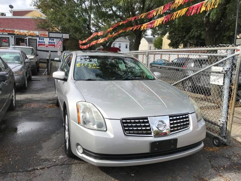 2005 Nissan Maxima for sale at Chambers Auto Sales LLC in Trenton NJ