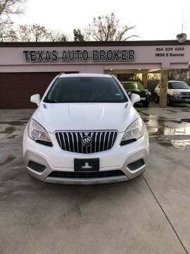 2013 Buick Encore for sale at Texas Auto Broker in Killeen TX